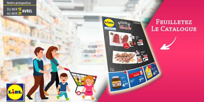 Catalogue Lidl en ligne Du 15 Au 21 Avril 2020