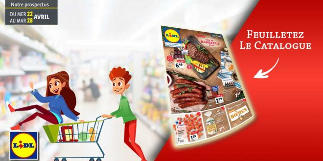 Catalogue Lidl en ligne Du 22 Au 28 Avril 2020