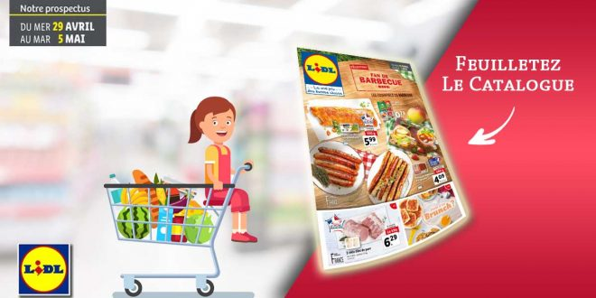 Catalogue Lidl en ligne Du 29 Avril Au 5 Mai 2020