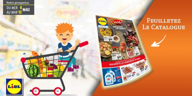 Catalogue Lidl en ligne Du 6 Au 12 Mai 2020