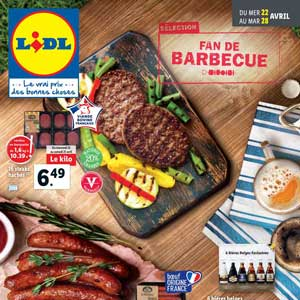 Catalogue Lidl de la semaine Du 22 Au 28 Avril 2020