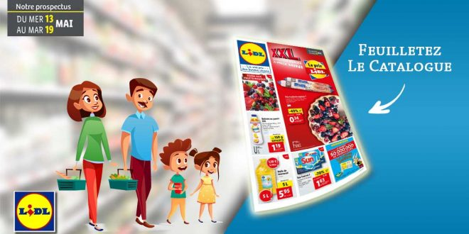 Catalogue Lidl en lgne Du 13 Au 19 Mai 2020