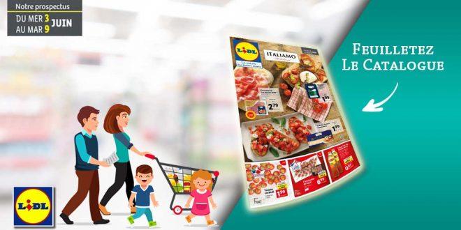 Catalogue Lidl en ligne Du 3 Au 9 Juin 2020