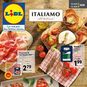 Catalogue Lidl de la semaine Du 3 Au 9 Juin 2020