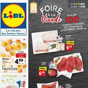 Catalogue Lidl de la semaine Du 27 Mai Au 2 Juin 2020