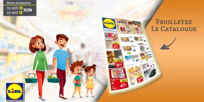 Catalogue Lidl Du 10 Au 16 Juin 2020