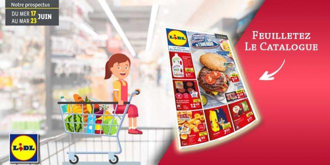 Catalogue Lidl de la semaine Du 17 Au 23 Juin 2020