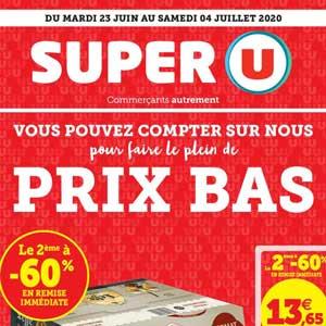 Catalogue Super U Du 23 Juin Au 4 Juillet 2020