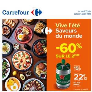 Dépliant Carrefour de la semaine Du 23 Juin Au 6 Juillet 2020