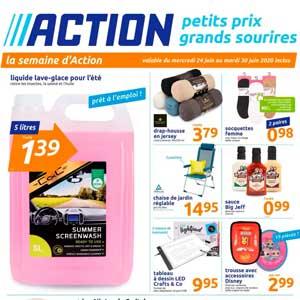 Catalogue Action Du 24 Au 30 Juin 2020