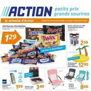 Catalogue Action Du 29 Juillet Au 4 Août 2020