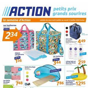 Catalogue Action Du 8 Au 14 Juillet 2020