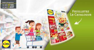 Catalogue Lidl en ligne Du 29 Juillet Au 4 Aout 2020
