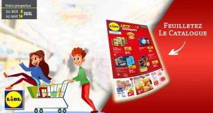 Catalogue Lidl en ligne Du 8 Au 14 Juillet 2020