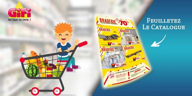 Catalogue GiFi La Braderie Du 17 Au 30 Septembre 2020 en ligne