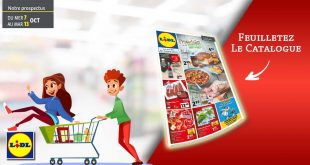 Catalogue Lidl en ligne Du 7 Au 13 Octobre 2020