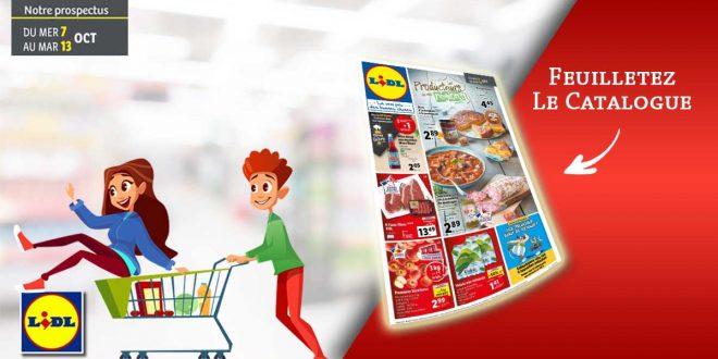 Catalogue Lidl en ligne Du 7 Au 13 Octobre 2020