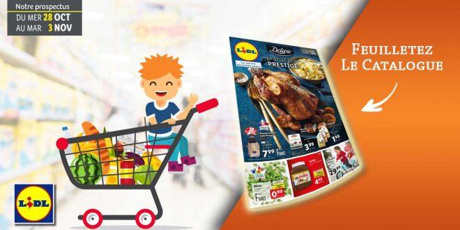 Catalogue Lidl en ligne Du 28 Octobre Au 3 Novembre 2020