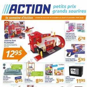 Catalogue Action de la semaine Du 18 Au 24 Novembre 2020