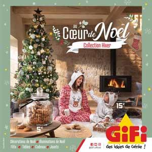 Catalogue GiFi Du 10 Au 22 Novembre 2020 AU COEUR DE NOËL