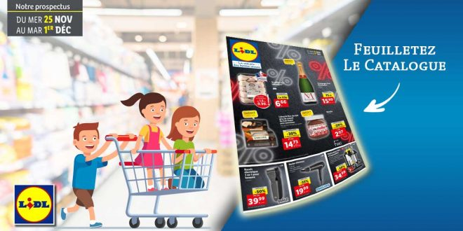 Prospectus Lidl Black Friday 2020