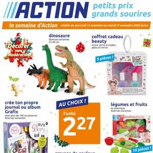 Catalogue Action de la semaine Du 11 Au 17 Novembre 2020