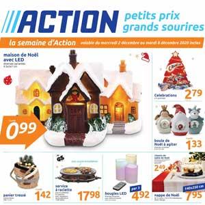 Dépliant Action Noel Du 2 Au 8 Décembre 2020