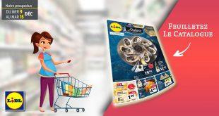 Catalogue Lidl de la semaine Du 9 Au 15 Décembre 2020