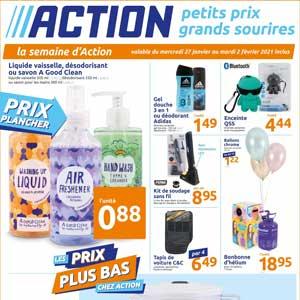 Catalogue Action en ligne Du 27 Janvier Au 2 Février 2021