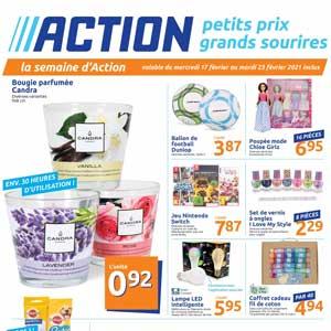 Catalogue Action en ligne Du 17 Au 23 Février 2021