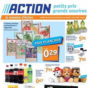 Catalogue Action en ligne Du 24 Février Au 2 Mars 2021