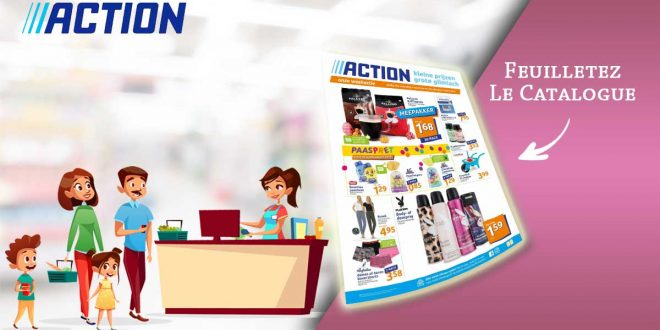 Catalogue Action en ligne Du 3 Au 9 Mars 2021