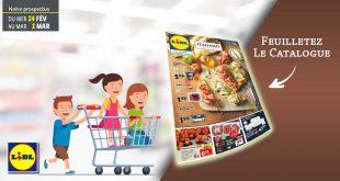 Catalogue Lidl en ligne Du 24 Février Au 4 Mars 2021