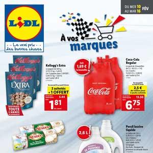 Catalogue Lidl en ligne Du 10 Au 16 Février 2021