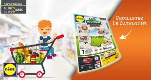 Catalogue Lidl en ligne Du 3 Au 9 Mars 2021