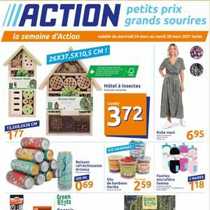 Catalogue Action en ligne Du 24 Au 30 Mars 2021