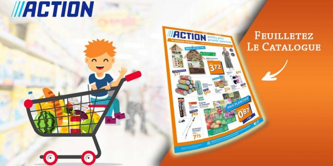 Catalogue Action en ligne Du 24 Au 30 Mars 2021