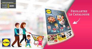 Catalogue Lidl en ligne Du 24 Au 30 Mars 2021