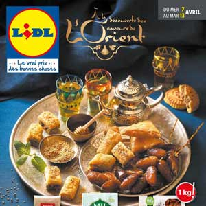 Catalogue Lidl Du 7 Au 13 Avril 2021