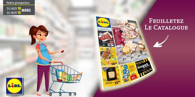 Catalogue Lidl en ligne Du 10 Au 16 Mars 2021