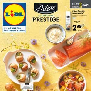 Catalogue Lidl en ligne Du 17 Au 23 Mars 2021