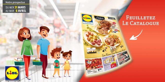 Catalogue Lidl en ligne Du 31 Mars Au 6 Avril 2021
