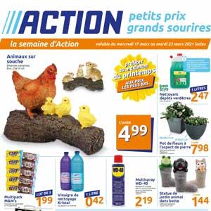 Catalogue Action en ligne Du 17 Au 23 Mars 2021
