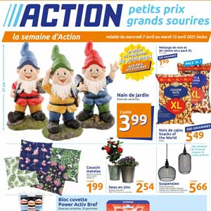 Catalogue Action en ligne Du 7 Au 13 Avril 2021