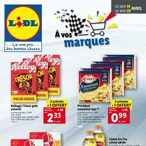 Catalogue Lidl en ligne Du 14 Au 20 Avril 2021