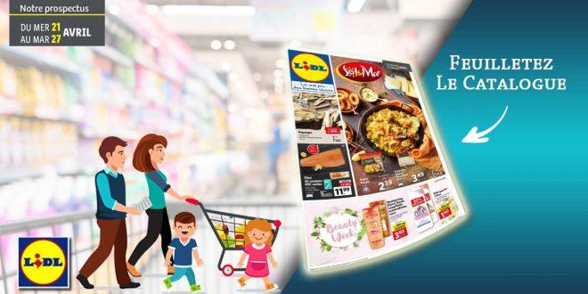 Catalogue Lidl en ligne Du 21 Au 27 Avril 2021
