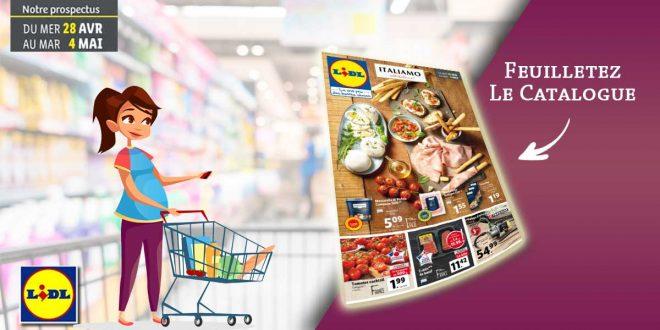 Catalogue Lidl en ligne Du 28 Avril Au 4 Mai 2021