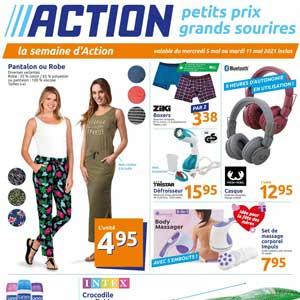 Catalogue Action en ligne Du 5 Au 11 Mai 2021