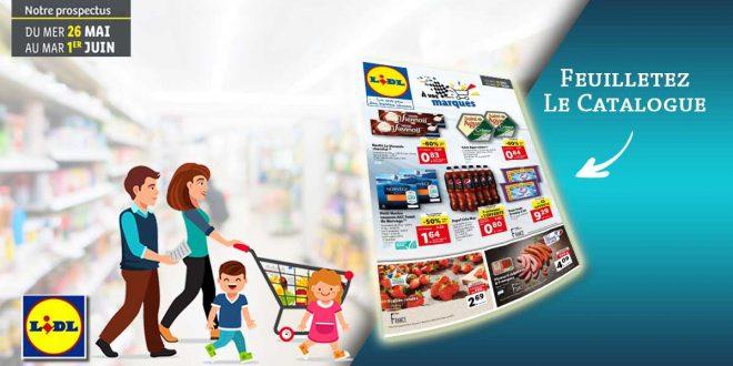 Catalogue Lidl Du 26 Mai Au 1er Juin 2021
