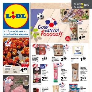 Catalogue Lidl Du 16 Au 22 Juin 2021